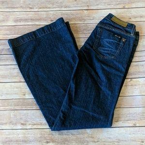 Seven7 Dark Wash Wide Leg Jeans